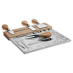 Denmark Artisanal 5-Piece Cheese Board Set