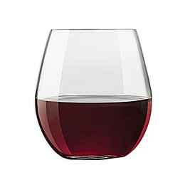 Libbey® Exquisite Stemless Red Wine Glasses (Set of 4)