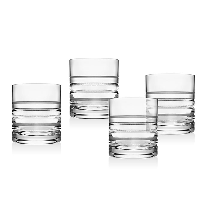 Alternate image 1 for Top Shelf Cirque Double Old Fashioned Glasses (Set of 4)