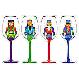 Godinger Nutcracker Goblets (Set of 4)