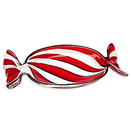 Godinger® Peppermint Wrapper Candy Dish
