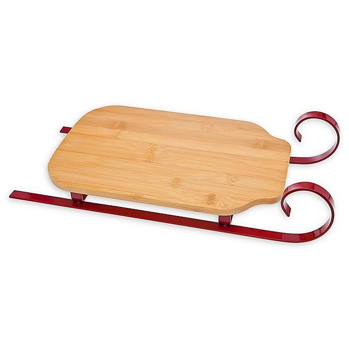 Alternate image 1 for Godinger Sleigh Cheese Board