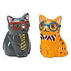 Smarty Cat Salt and Pepper Shakers