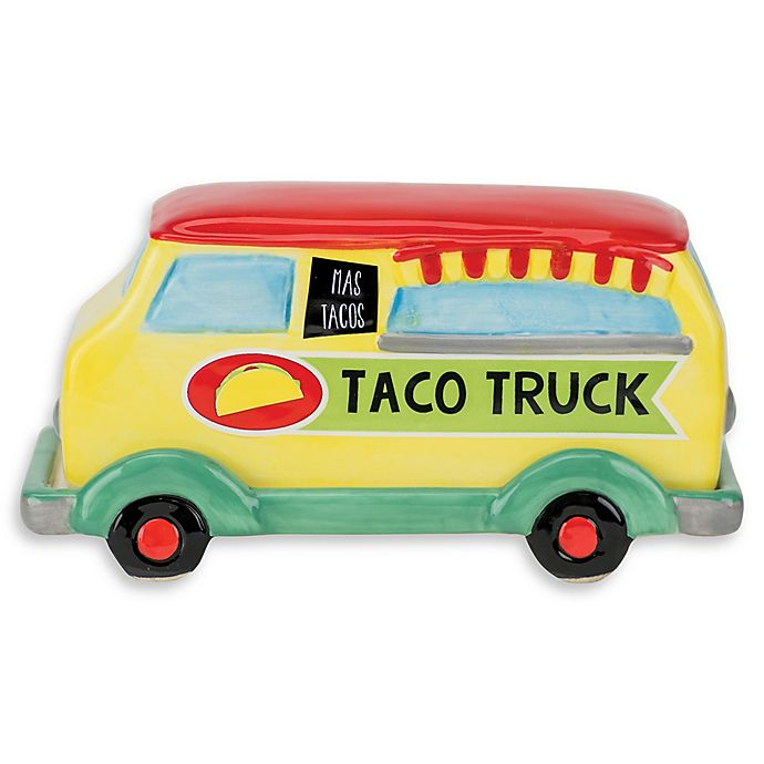 Alternate image 1 for Boston Warehouse Novelty Taco Truck Butter Dish
