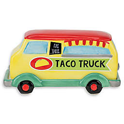 Boston Warehouse Novelty Taco Truck Butter Dish