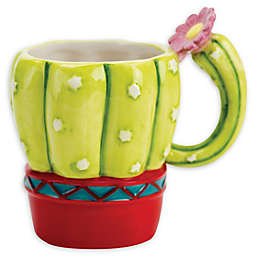 Boston Warehouse® Potted Cactus 18 oz. Coffee Mug