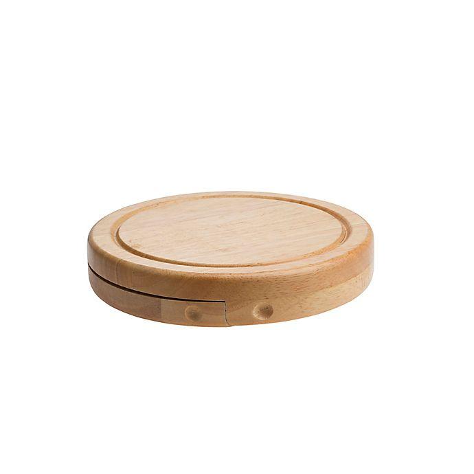 Alternate image 1 for Denmark Artisinal 4-Piece Round Cheese Board Set