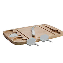 Denmark Artisinal 5-Piece Cheese Board Set