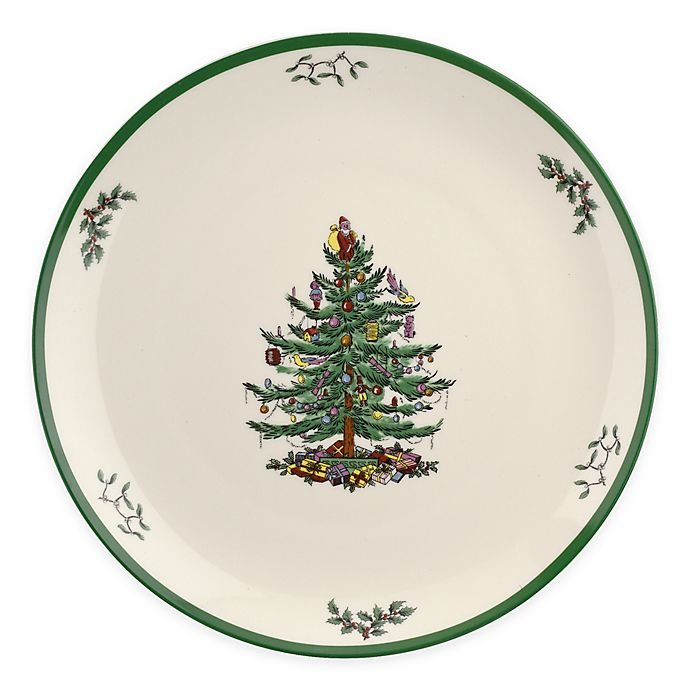 Spode Christmas Tree OVAL Platter by