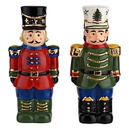 Spode® Christmas Tree Nutcracker Salt and Pepper Shakers