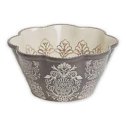 Baum Tapestry Serving Bowl Grey