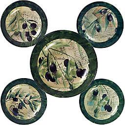 Certified International olivia 5-Piece Pasta Bowl Set