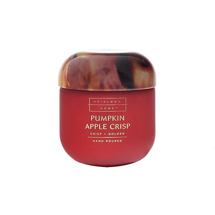 Alternate image 1 for Heirloom Home™ Pumpkin Apple Crisp 4 oz. Jar Candle