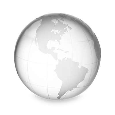 Oleg Cassini Globe Paperweight