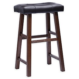 Padded Saddle Bar Stool