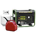 Sportsman Series 4000-Watt Dual Fuel Generator in Green