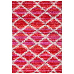 Safavieh Montage Zena Indoor/Outdoor Rug in Fuchsia