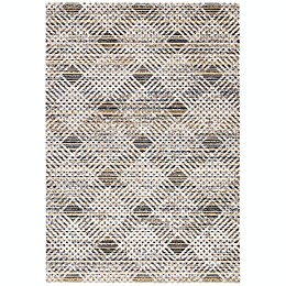 Safavieh Montage Toby Indoor/Outdoor Rug in Dark Grey