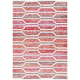 Safavieh Montage Chester Indoor/Outdoor Rug in Red