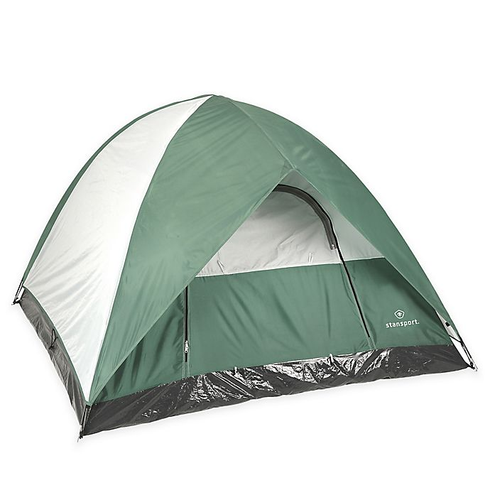 Alternate image 1 for Stansport® McKinley 3-Person Dome Tent in Green/Grey