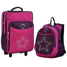 O3 Kids Backpack and Luggage Set in star.