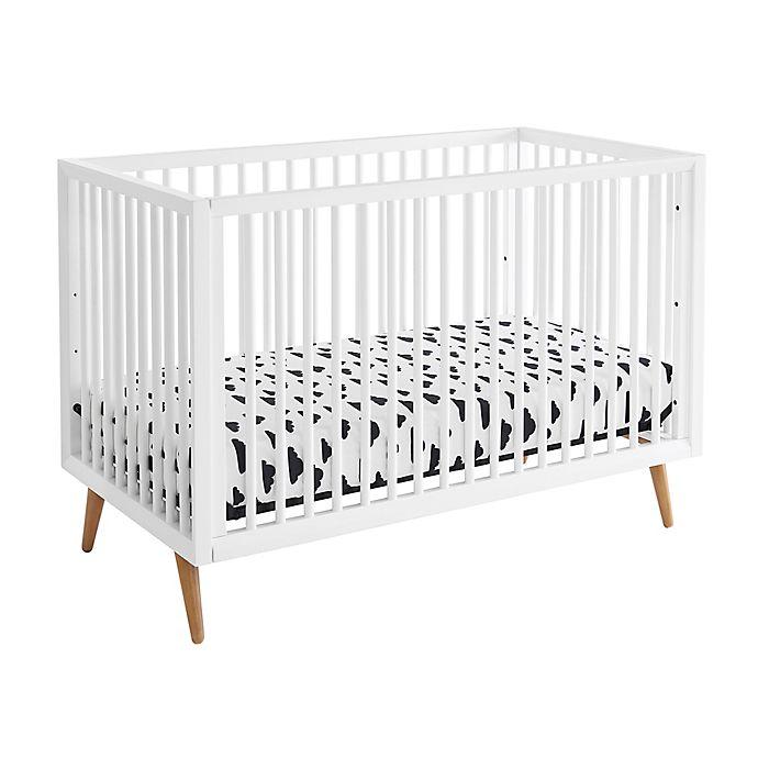 Alternate image 1 for Kolcraft® Roscoe 3-in-1 Convertible Crib in White