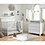 Part of the Kolcraft® Harper Nursery Furniture Collection in White
