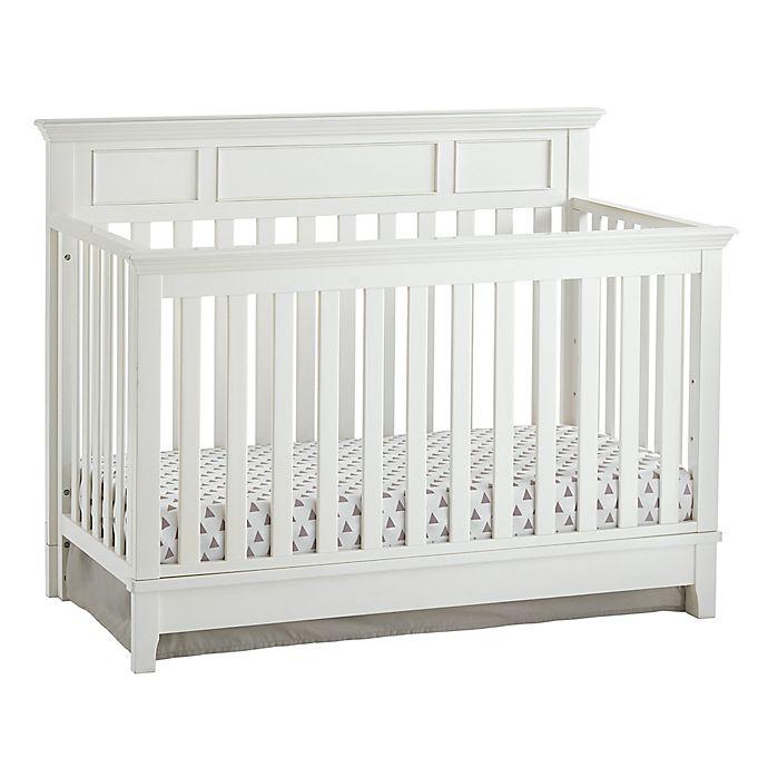 Alternate image 1 for Kolcraft® Harper 4-in-1 Convertible Crib in White
