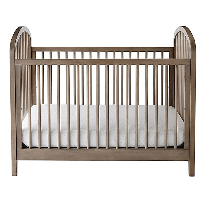 Alternate image 1 for Kolcraft® Elston 3-in-1 Convertible Crib in Antique Grey