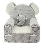 Sweet Seats® Plush Elephant Chair in Grey