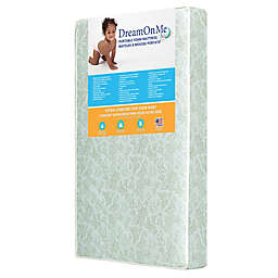 Dream On Me 3-Inch 2-In-1 Foam Core Portable Crib and Toddler Bed Mattress in Green