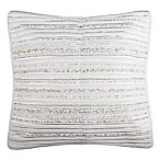 Moonstone Square Throw Pillow in Cream