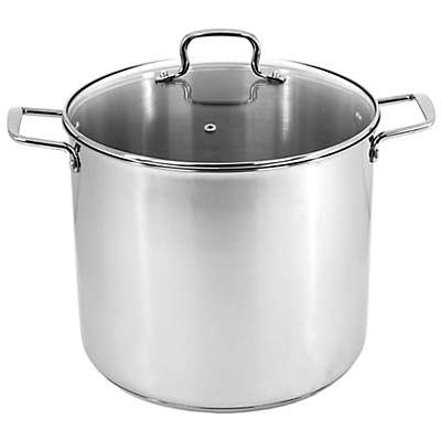Oneida® Stainless Steel Covered Stock Pot