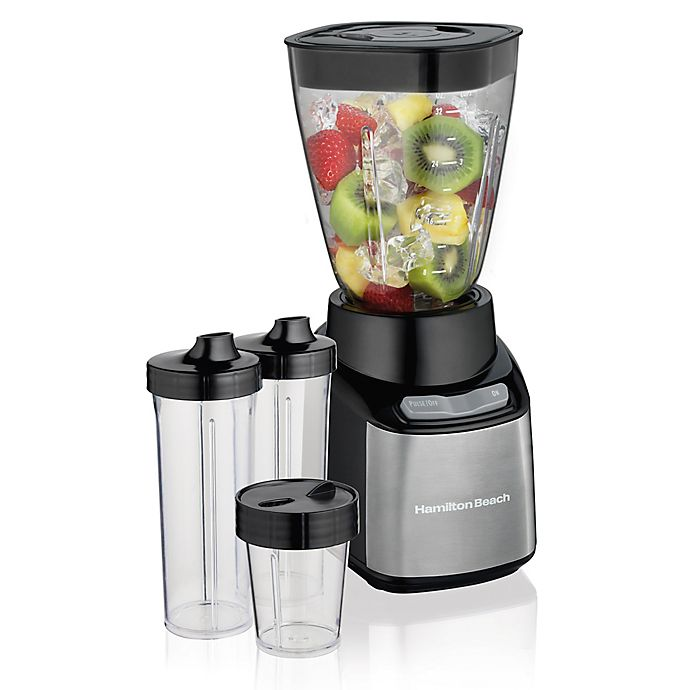 Alternate image 1 for Hamilton Beach® Stay or Go® Blender in Black