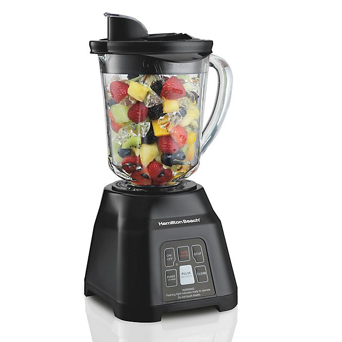 Alternate image 1 for Hamilton Beach® Smoothie Smart™ Blender in Black