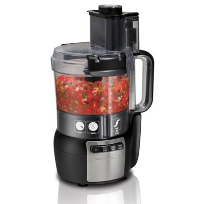Hamilton Beach Stack & Snap 10-Cup Food Processor