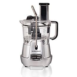 Hamilton Beach® Stack & Snap™ 8-Cup Food Processor in Silver