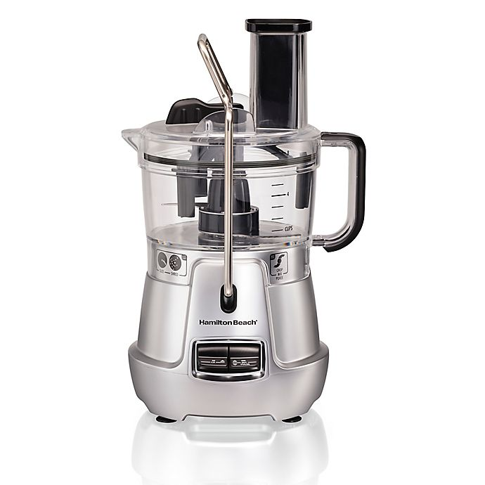 Alternate image 1 for Hamilton Beach® Stack & Snap™ 8-Cup Food Processor in Silver