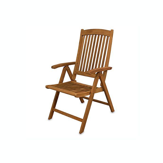 Sensational Teak Avalon Folding Multi Position Deck Chair With Arms Machost Co Dining Chair Design Ideas Machostcouk