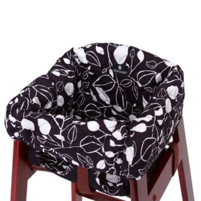Balboa Baby 174 High Chair Cover In Black White Tea Leaf