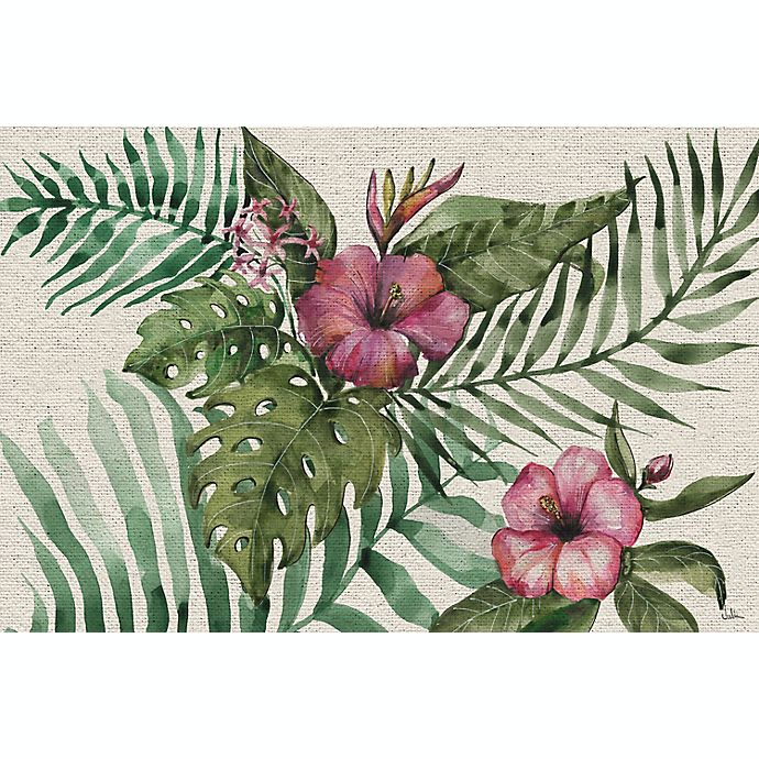 Alternate image 1 for Marmont Hill Follaje Floral 20-Inch x 30-Inch Canvas Wall Art