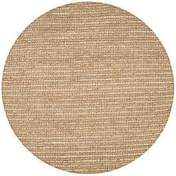 Safavieh Bohemian Jones 4' Round Handcrafted Area Rug in Beige