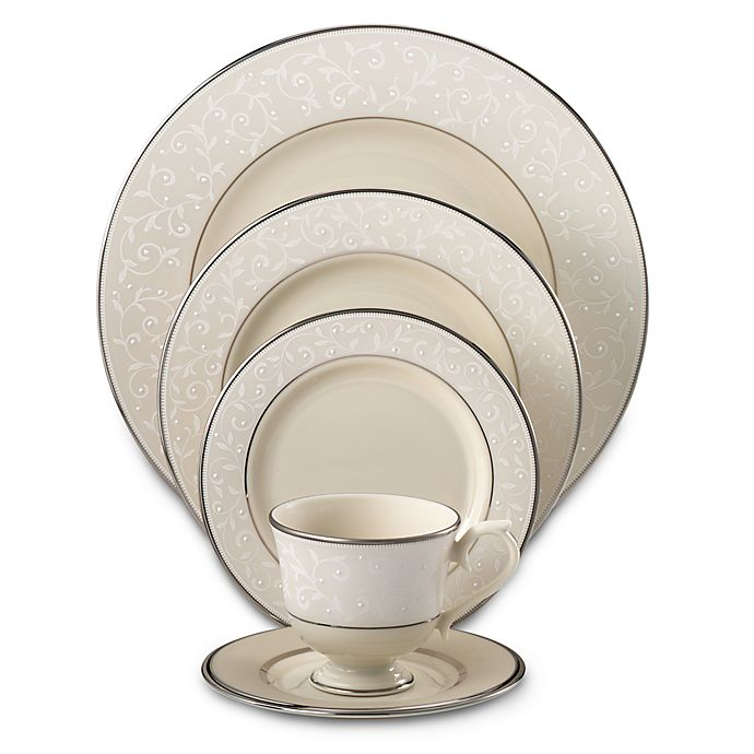 Alternate image 1 for Lenox® Pearl Innocence™ Dinnerware Collection