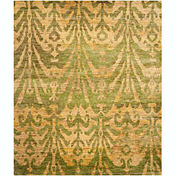 Safavieh Owen 5' x 8' Hand-Knotted Area Rug in Green