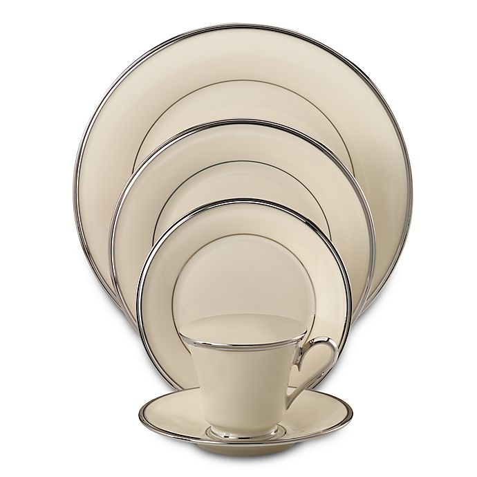 Alternate image 1 for Lenox® Solitaire® 5-Piece Place Setting