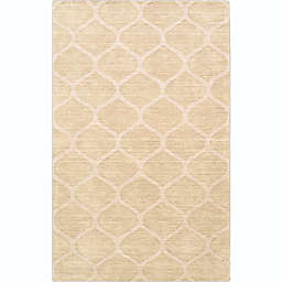 Surya Mystique 2' x 3' Accent Rug in Champagne