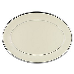 Lenox® Solitaire® 13-Inch Oval Platter