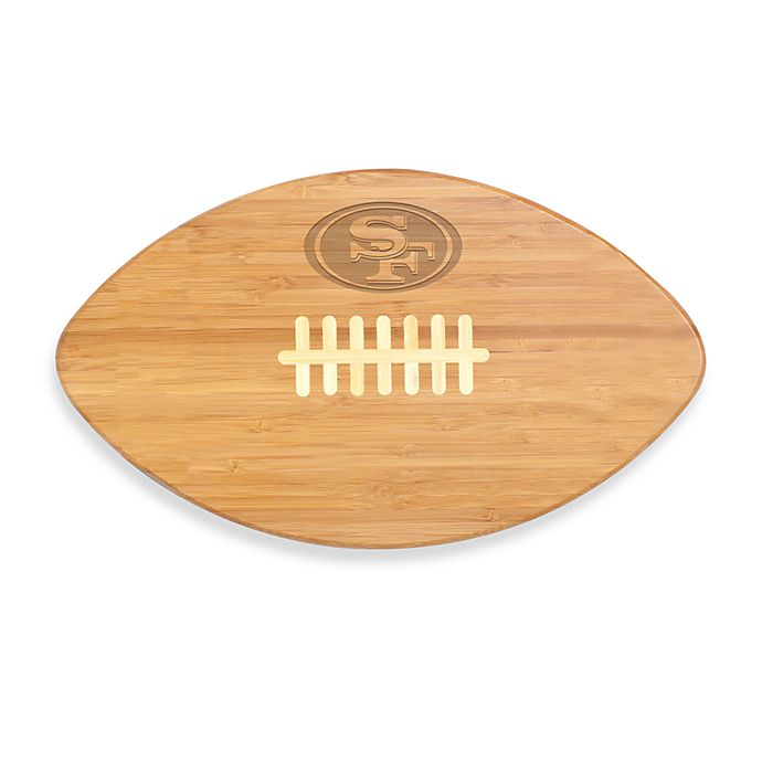 Alternate image 1 for Picnic Time® NFL San Francisco 49ers Touchdown Pro! Cutting Board