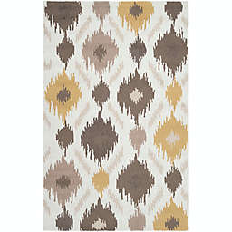 Surya Brentwood 5' x 8' Area Rug in Yellow/Brown