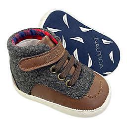Nautica® High Top Sneaker in Brown/Grey